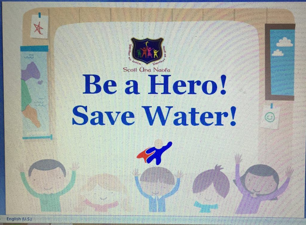 Our Water Slogan