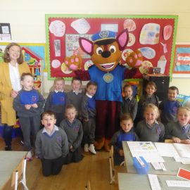 Paw Patrol visits the school