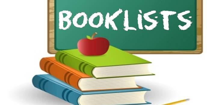 2019/2020 Booklist and Calendar
